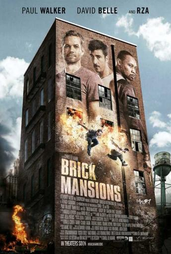 Brick Mansions Movie Poster (11 x 17) XTKQFGUUZLZYJ46C