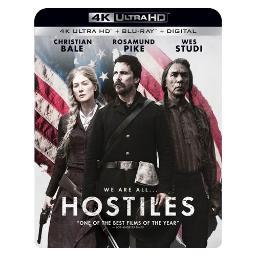 Hostiles (blu-ray/4kuhd/uv/digital hd) BR54097