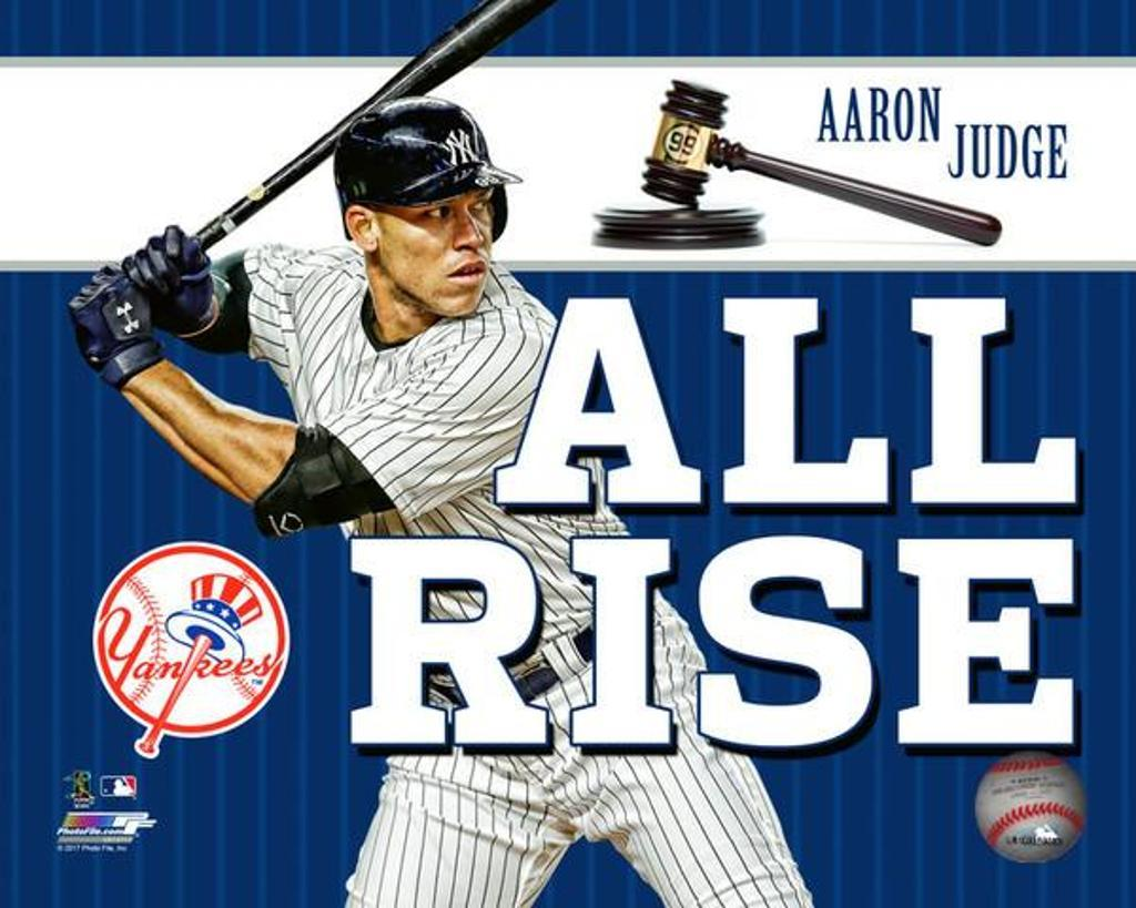 "Aaron Judge ""All Rise"" Photo Print"