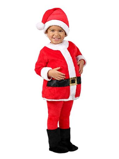 Baby Toddler Jolly Santa Costume Red Infant/Toddler (6-12M),Infant/Toddler (12M-18M),Toddler (18M-2T),Toddler 2T-4T,Infant(0-6 months),Child S (6)