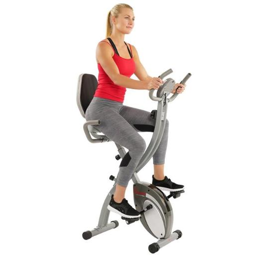 Sunny Health & Fitness SF-B2721 Comfort XL Folding Recumbent Bike