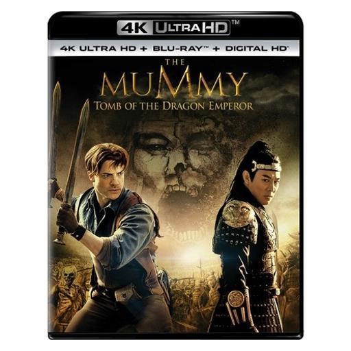 Mummy-tomb of the dragon emperor (blu-ray/4kuhd/ultraviolet/digital hd) 7W4IY1UF5X1UAW7E