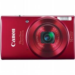 Canon 1087C001 PowerShot ELPH 190 IS Digital Camera with 20 MP, 10x Zoom & Built in WiFi - Red