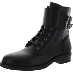 FatFace Womens Larbert Leather Ankle Lace-Up Boot