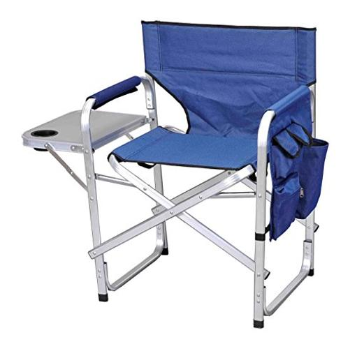 Deluxe Camping Chair Blue