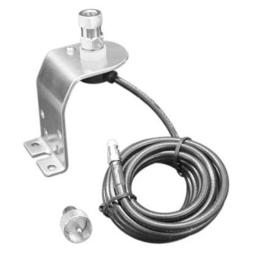 Accessories unlimited AUC10K Tall Hood Mount with Coax Cable