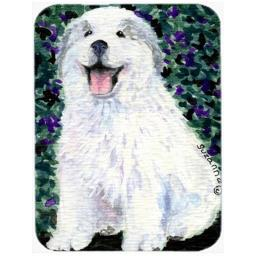 Carolines Treasures SS8856LCB Great Pyrenees Glass Cutting Board, Large SS8856LCB
