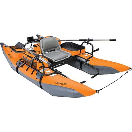 Classic Accessories 69774 Colorado XT 9ft High-Capacity Pontoon Boat in Pumpkin and Grey