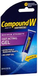 Compound W Fast-acting Maximum Strength Gel - 0.25 Oz, Pack Of 4