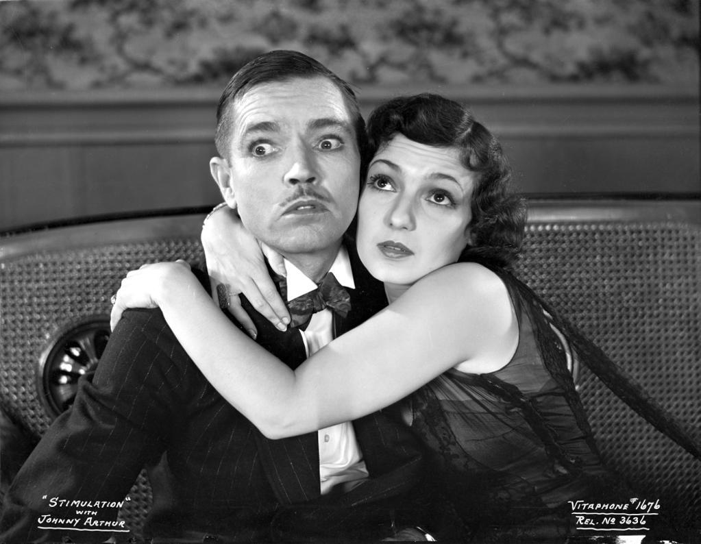 A publicity still of Johnny Arthur and Beatrice Blinn Photo Print