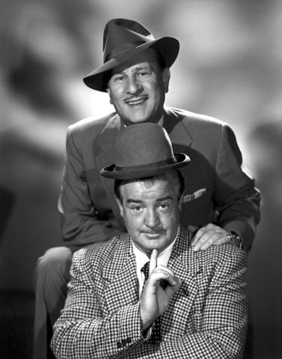 Abbott & Costello In The Early 1950S Photo Print