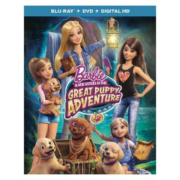 Barbie & her sisters in the great puppy adventure (blu ray/dvd w/dig hd) BR63165818