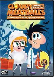 Cloudy with a chance of meatballs series-halloween (dvd) D51246D