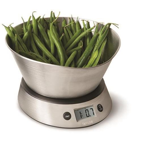 Taylor 3877 Weighing Bowl & Digital Scale