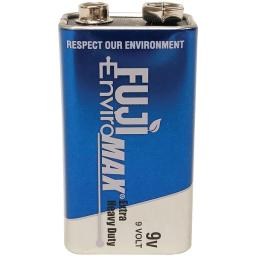 Fuji batteries 3600bp1 enviromax 9-volt extra heavy-duty battery