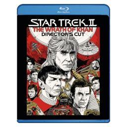 Star trek 2-wrath of khan (blu ray/directors edition) BR59178002