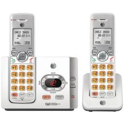 At&t(r) el52215 dect 6.0 cordless answering system with caller id/call waiting (2 handsets)