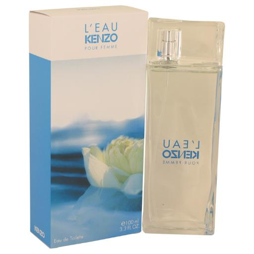 L'eau Kenzo by Kenzo Eau De Toilette Spray 3.3 oz L'eau Kenzo by Kenzo Eau De Toilette Spray 3.3 oz fun gift for anytime and quick to your door