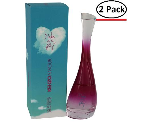 Kenzo Amour Make Me Fly by Kenzo Eau De Toilette Spray 1.3 oz for Women (Package of 2) Kenzo Amour Make Me Fly by Kenzo Eau De Toilette Spray 1.3 oz for Women (Package of 2) fun gift for anytime and quick to your door