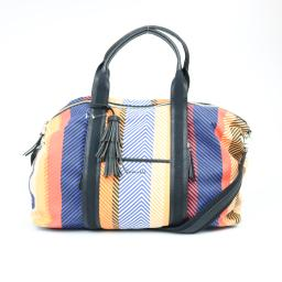 Splendid Monterey Multi-Stripe Weekender Bag