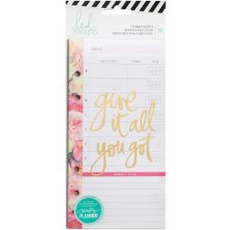 Heidi Swapp Personal Memory Planner Inserts Meal & Exercise 25/Pkg