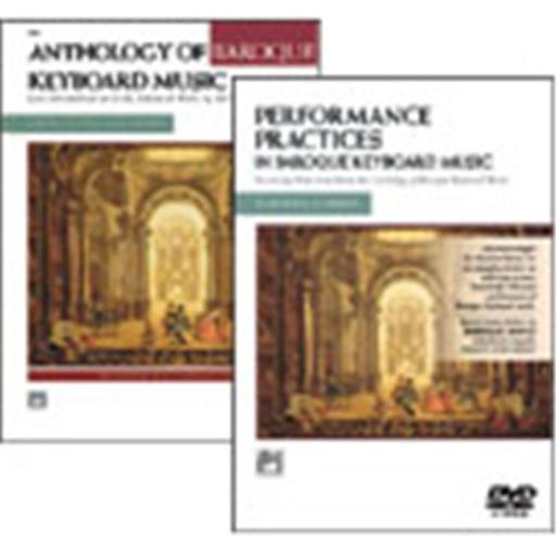 Alfred 00-21449 Anthology of Baroque Keyboard Music with Performance Practices in Baroque Keyboard Music - Music Book