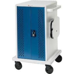 Bretford core36ms-cttz tablet, chromebook cart.  secures and recharges up to 36 devices.  includes 36 e