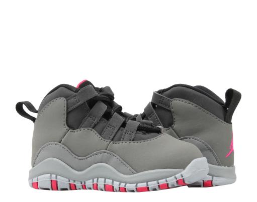 save off a1877 edb74 Nike Air Jordan 10 Retro (TD) Dark Shadow Grey Toddler Shoes 705416-006