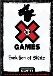 X games-evolution of skate (dvd) D7729D