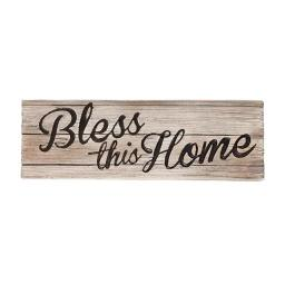 Spoontiques 12010780 Bless This Home Decorative Sign