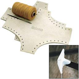 Edson leather spreader boots kit- large 1401-3