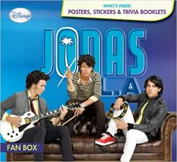 Jonas L.A. Fan Box [With Poster and Trivia Booklets] Hardcover