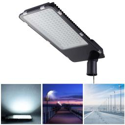 DELight 150W LED Road Street Light 18000lm 6500K IP65 Waterproof Wired Parking Lot Area Lighting Floodlight Lamp Outdoor