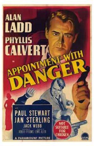 Appointment with Danger Movie Poster (11 x 17) X6CSY9DCNR47MZTL