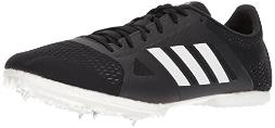adidas Adizero md Running Shoe, core Black, FTWR White, hi-res Orange s, 12 M US