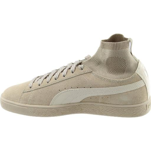 885789429f59 Puma PUMA Mens Suede Classic Sock Athletic   Sneakers Beige ...