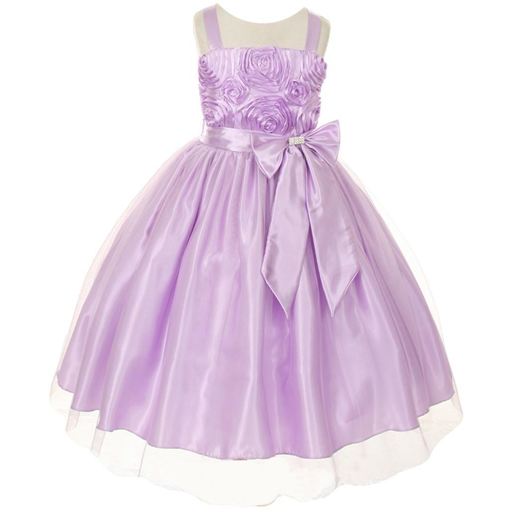 31e04e4b4f Flower Girl Dresses With Purple Ribbon - Data Dynamic AG