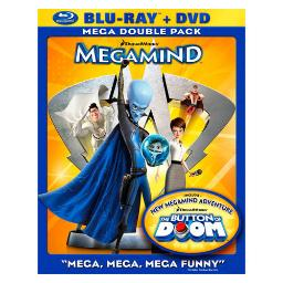 Megamind (blu-ray/dvd/2 disc combo) BR101074