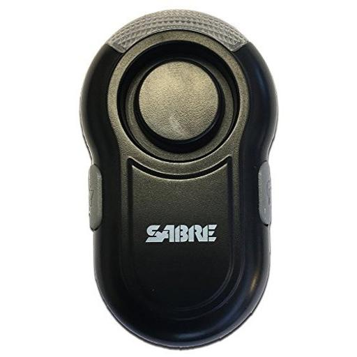 Sabre pa-clip-bk sabre personal alarm with clip and led light w 120db alarm