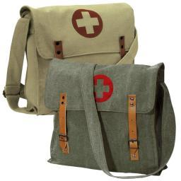 Rothco Vintage Canvas Medic Bag w/Cross