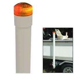Ce Smith 40&Quot; Post Boat Guide W/ Led Top Light