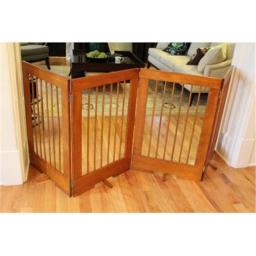Cardinal Gates 4PGO 4 Panal Extra Tall Pet Gate, Oak