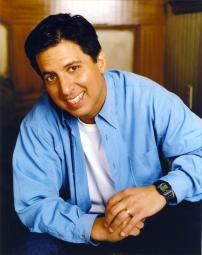 Ray Romano Smiling in A Portrait Wearing Blue Long Sleeves Photo Print GLP454855LARGE