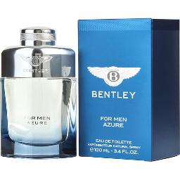 BENTLEY FOR MEN AZURE by EDT SPRAY 3.4 OZ for MEN (Package Of 5)