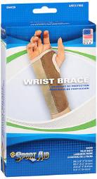 Sport Aid Wrist Brace MD/Right - 1 ea., Pack of 4