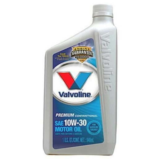 Valvoline Oil VV141 1 Quart 10W40 All Climate Motor Oil - Pack Of 6