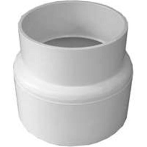 Genova Products 41740 Pvc Vnyl & Cast Iron Adapter 4 In.