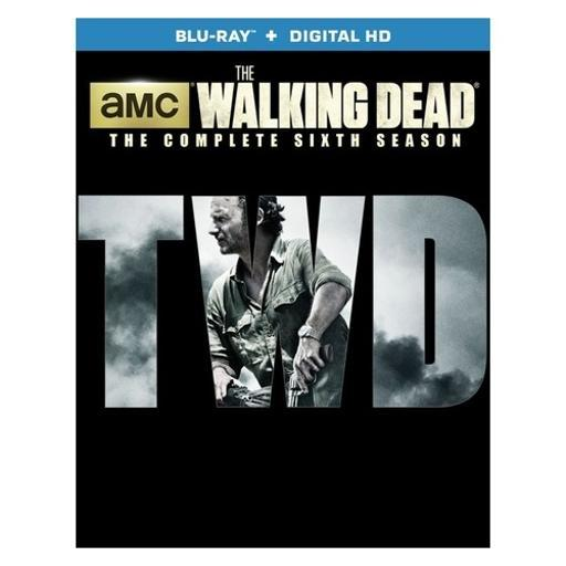 Walking dead-season 6 (blu-ray/5 disc) 1283185