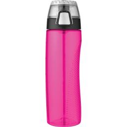 Thermos(r) hp4100mgtri6 24-ounce tritan hydration bottle with meter (magenta)