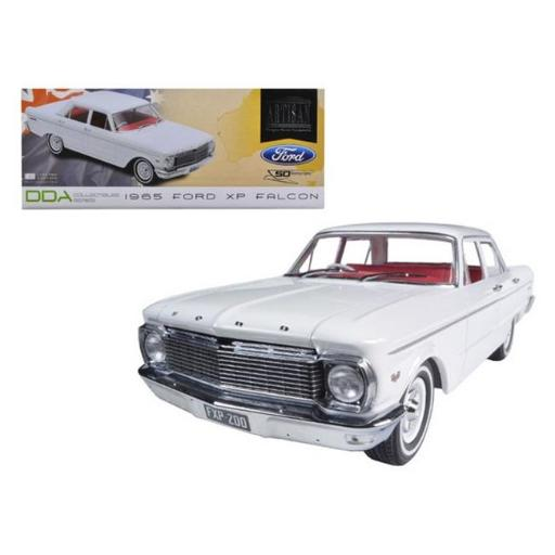 Greenlight DDA003 1965 Ford XP Falcon White 50th Anniversary Limited to 1250 Piece with Certificate of Authenticity 1-18 Diecast Car Model